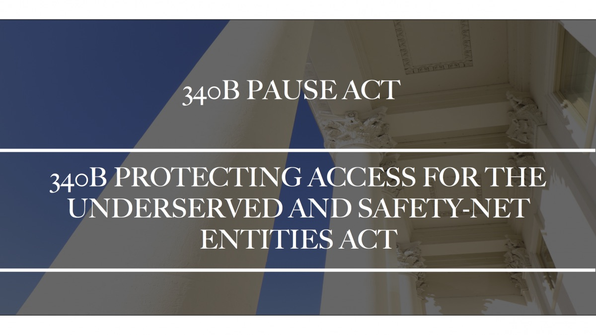 Dr. Bucshon and Rep. Scott Peters Introduce Bipartisan Legislation, 340B Protecting Access for the Underserved and Safety-Net Entities Act (340B PAUSE Act)